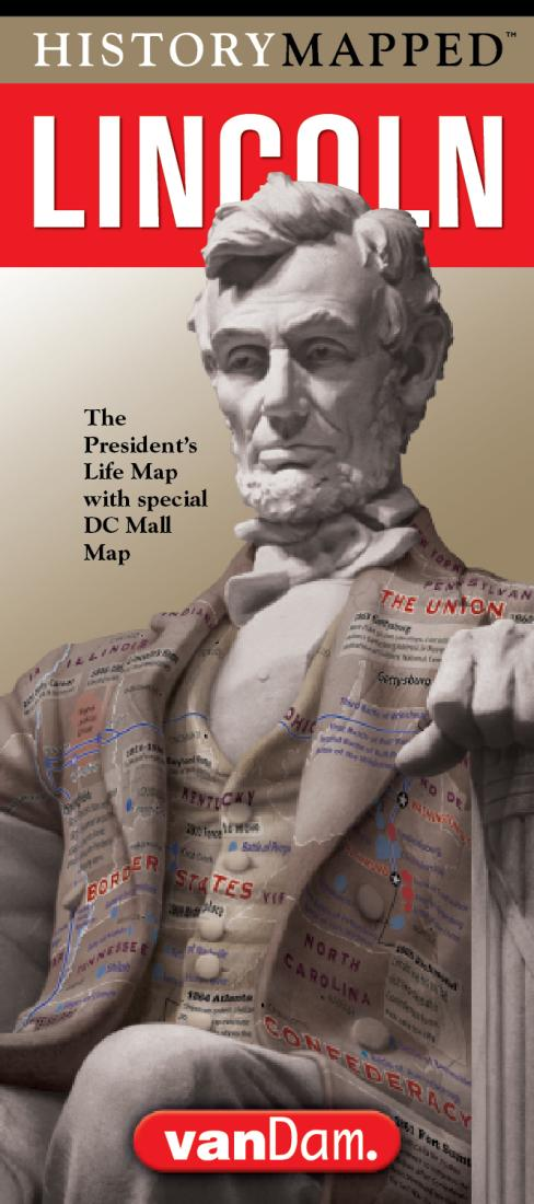 Cover of Lincoln Presidential Map