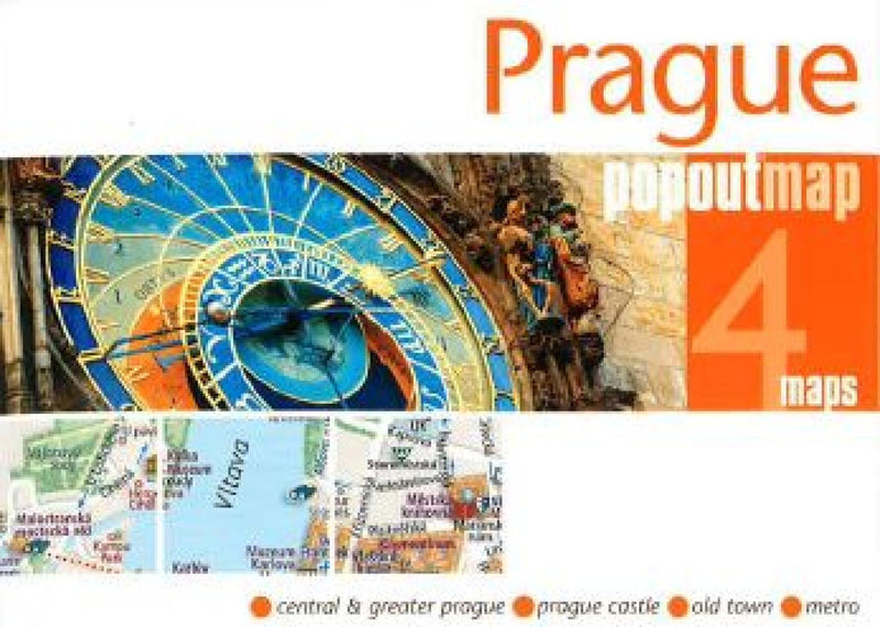 Cover of Prague, Czech Republic, PopOut Map