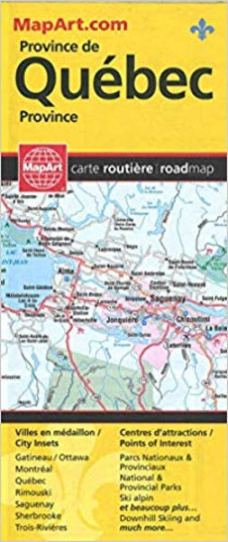 Province de Queb'c : carte routiŠre = Quebec Province : road map