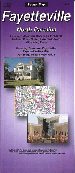 Cover of Fayetteville, North Carolina by The Seeger Map Company Inc.