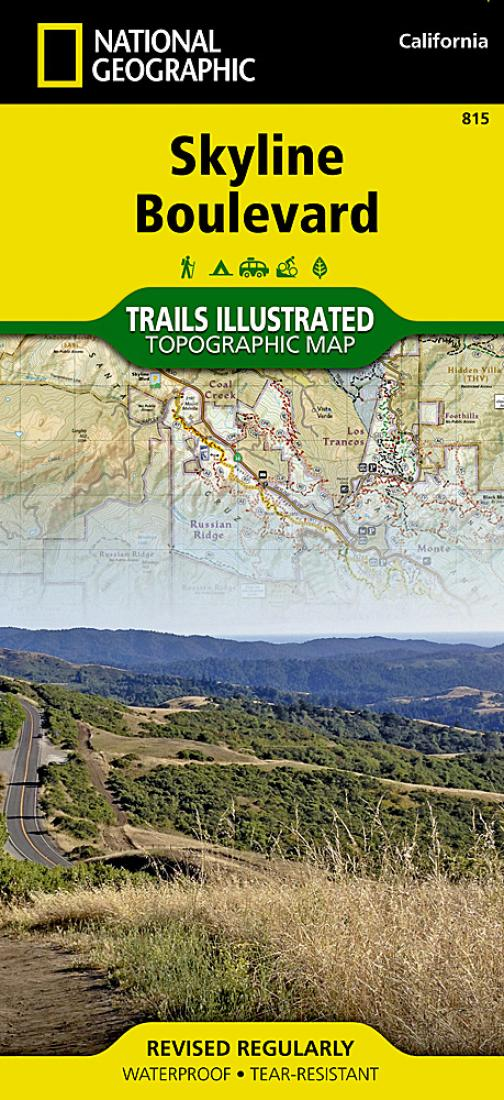 Skyline Boulevard : Trails illustrated : topographic map