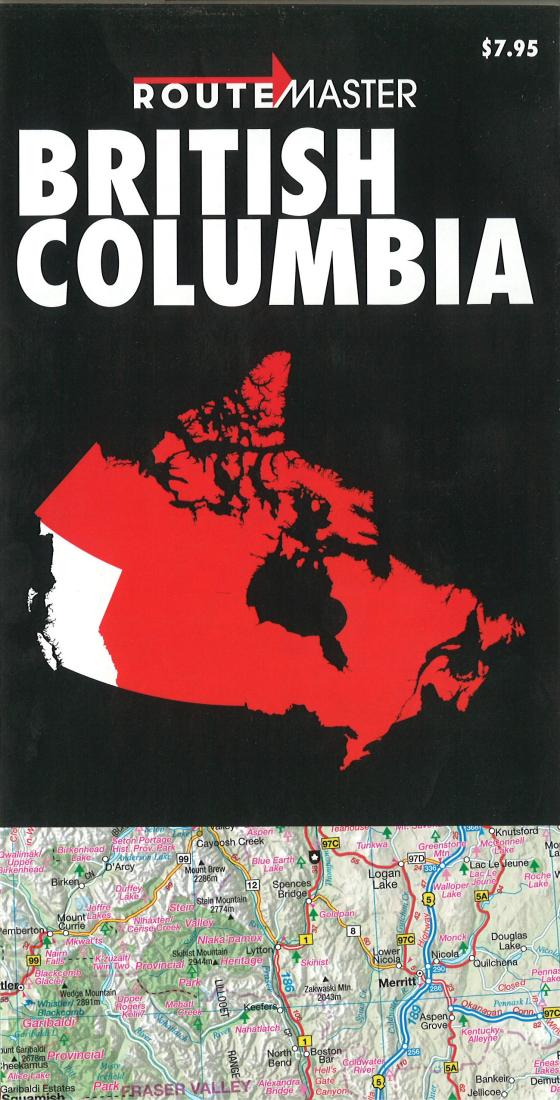 Cover of British Columbia Quick Fold by Route Master