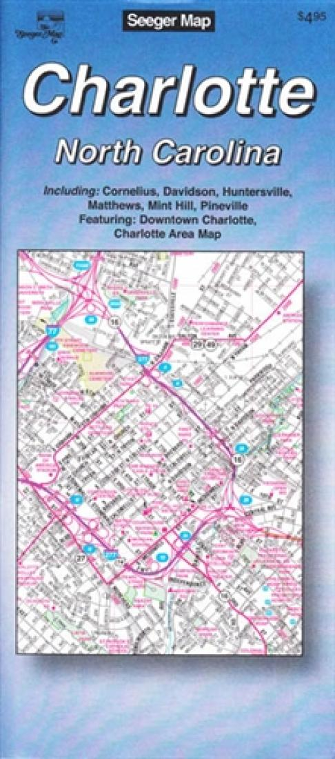 Cover of Charlotte, North Carolina by The Seeger Map Company Inc.