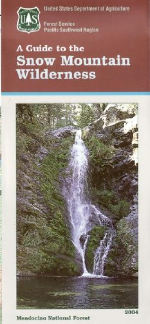 Cover of A Guide to the Snow Mountain Wilderness by U.S. Forest Service