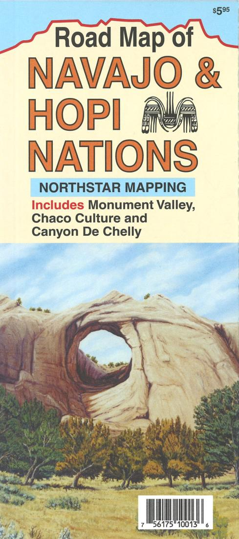 Cover of Navajo and Hopi Nations by North Star Mapping