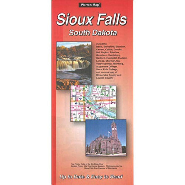 Cover of Sioux Falls, South Dakota by The Seeger Map Company Inc.