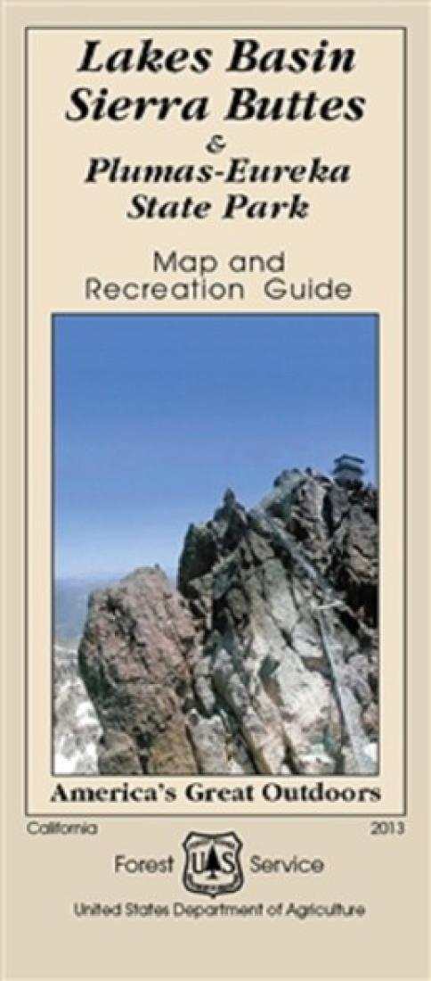 Cover of Lakes Basin Sierra Buttes & Plumas-Eureka State Park Map by U.S. Forest Service