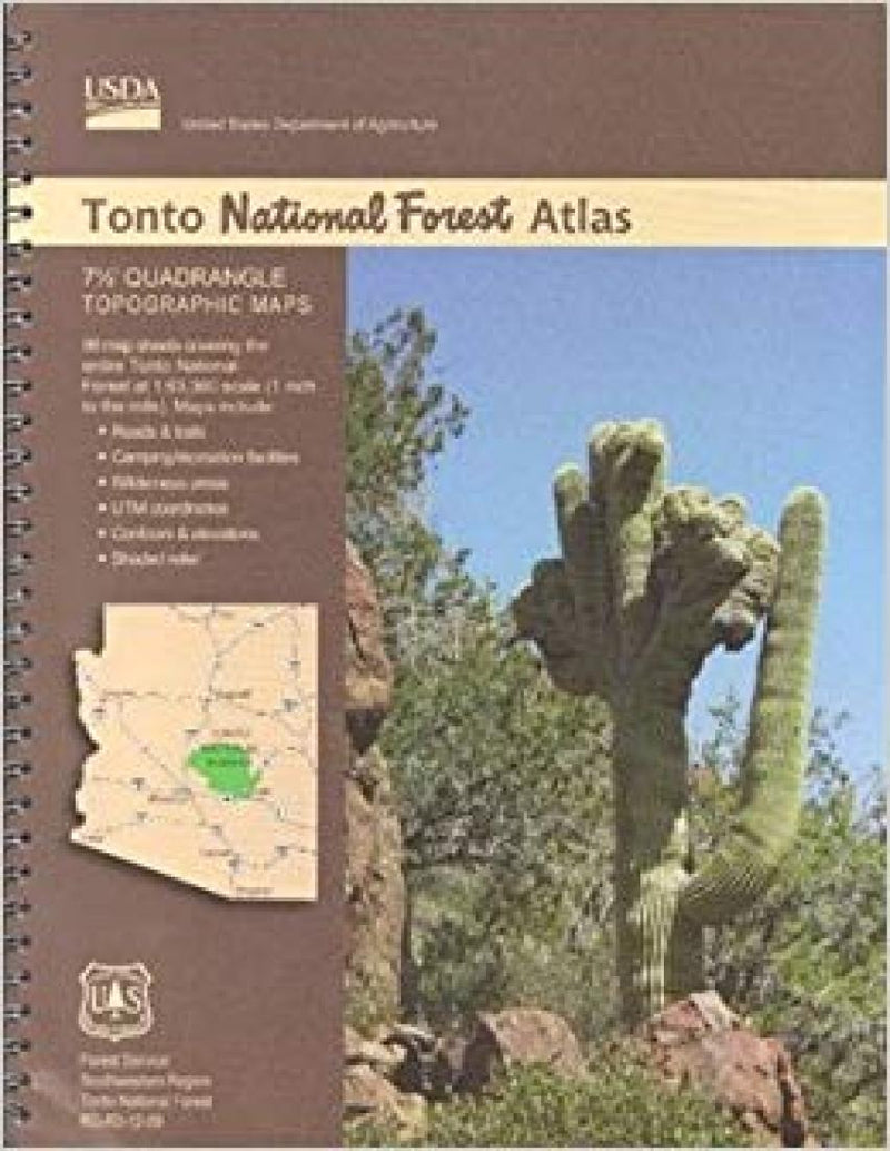 Cover of Tonto National Forest Atlas by U.S. Forest Service