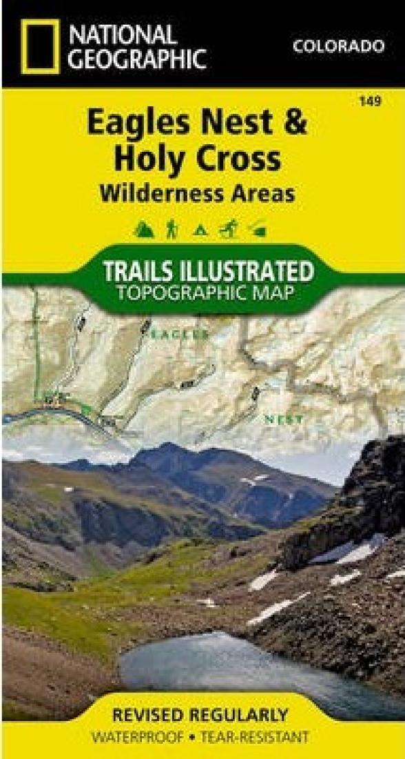 Eagles Nest and Holy Cross Wilderness Areas by National Geographic