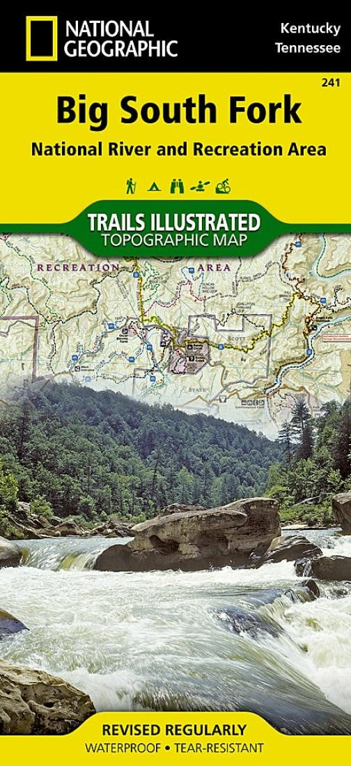Big South Fork, National River and Recreation Area Folded Map by National Geographic
