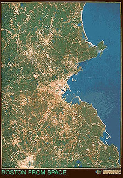Boston Satellite Map