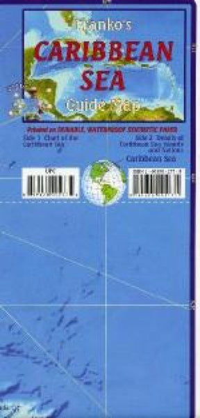 Caribbean Sea Guide Map