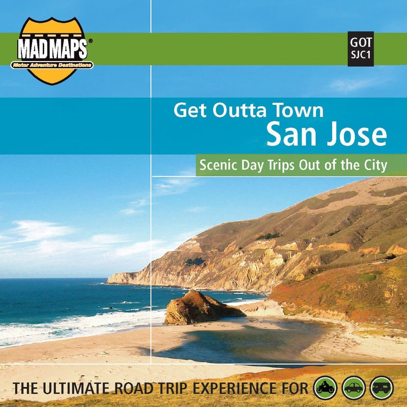 San Jose, California, Get Outta Town by MAD Maps