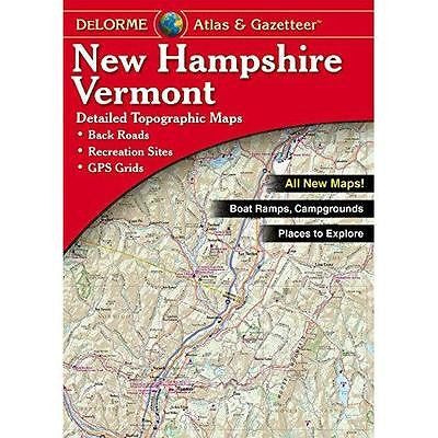 New Hampshire and Vermont, Atlas and Gazetteer