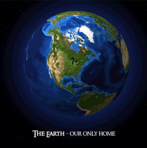 Cover of Earth-Our-Only-Home-3D-Postcard-