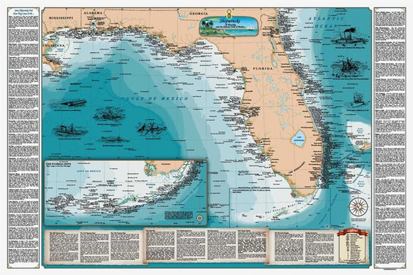 Cover of Florida Shipwreck Chart