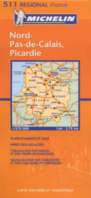 France, France-North Travel Map