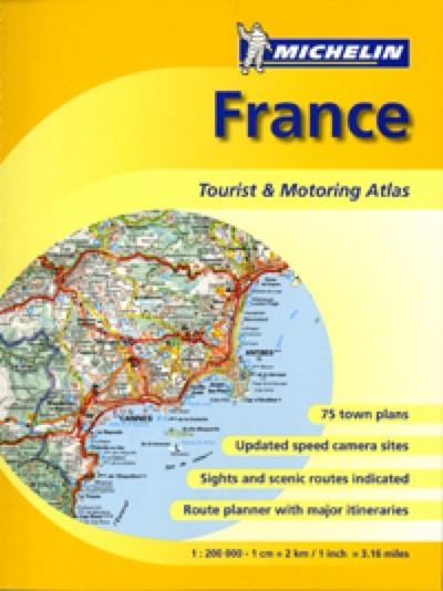 France Road Atlas - Michelin