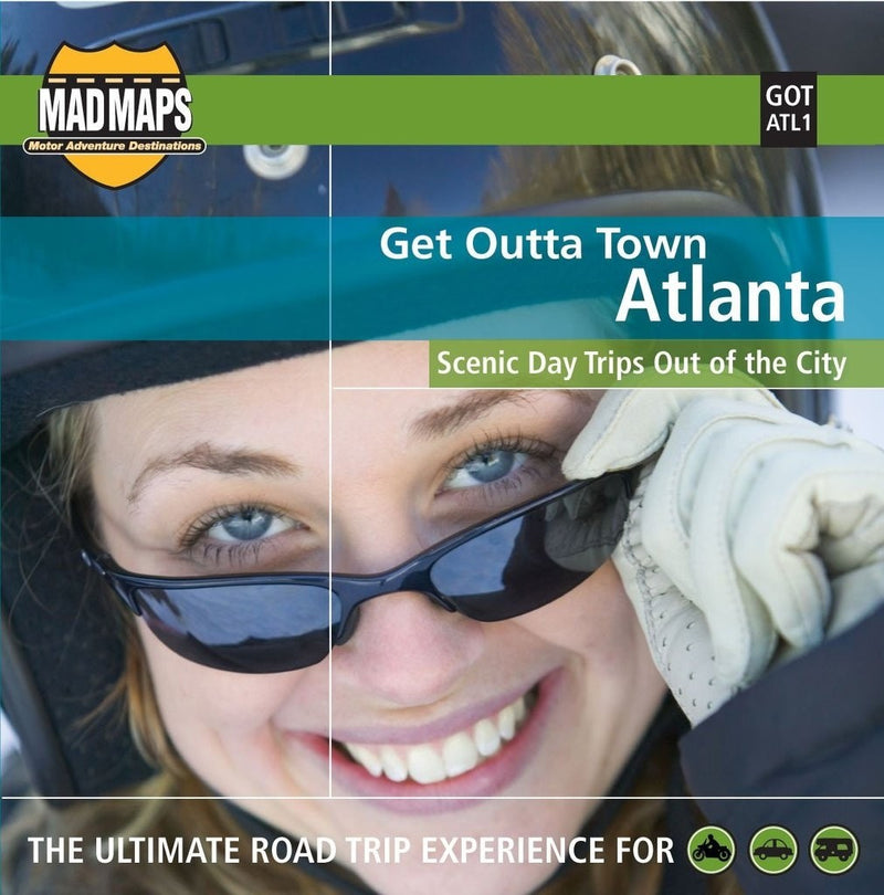 Atlanta, Georgia, Get Outta Town by MAD Maps