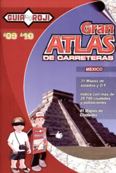 Grand Road Atlas of Mexico