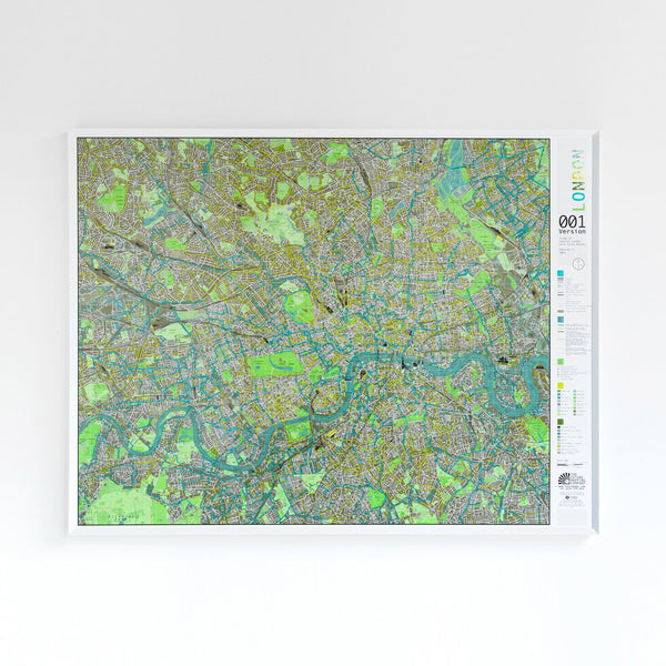 Cover of London Street Map by Future Mapping Company