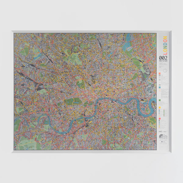 Cover of London Street Map Version 2 by Future Mapping Company