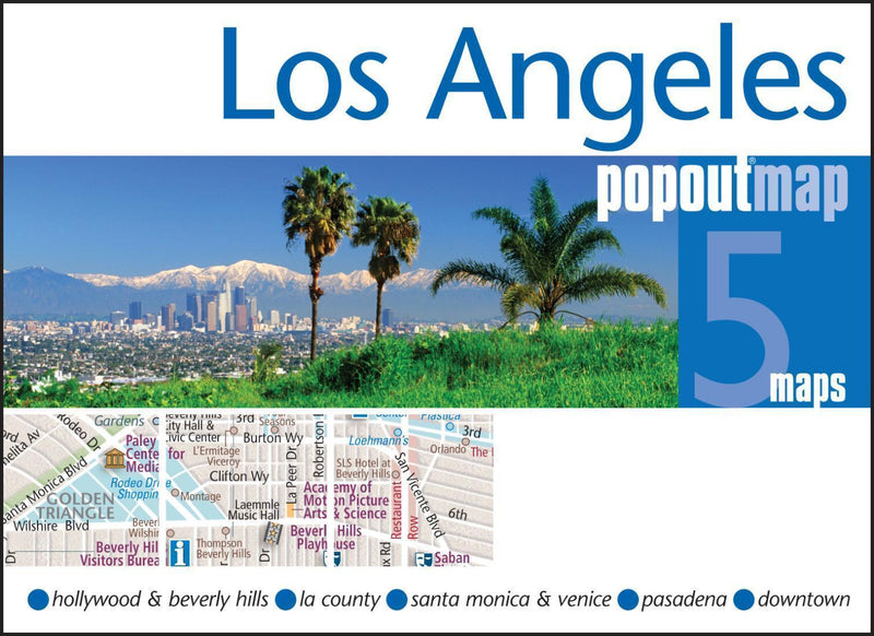 Cover of Los Angeles California PopOut Map