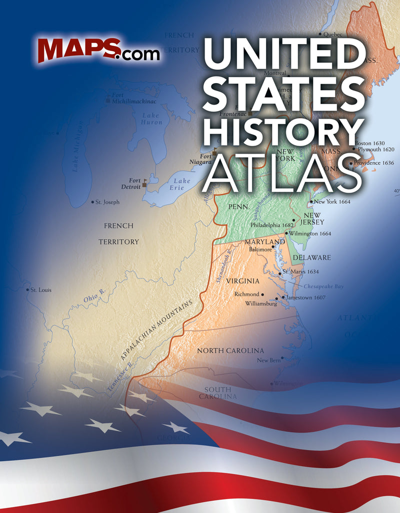 Maps.com United States History Atlas