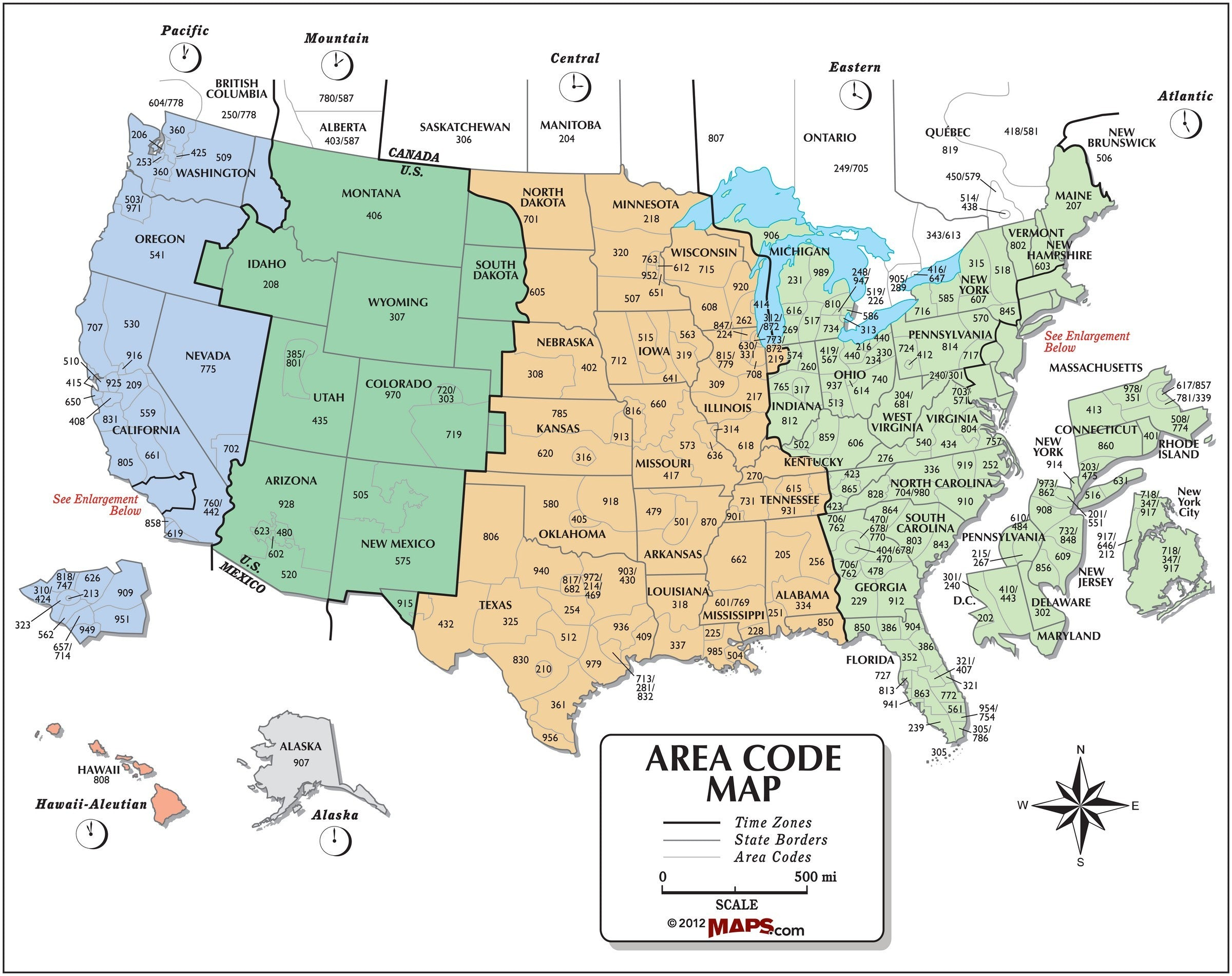 USA Area Code and Time Zone Wall Map United States Map And Time on civil war time map, indiana time map, canada time map, world time map, europe time map, earth time map, puerto rico time map, german time map, florida time map, international time map, israel time map, kentucky time map, guam time map, time zone map, local time map, christianity time map, romania time map, england time map, interstellar time map, peru time map,