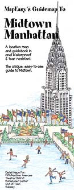 Midtown Manhattan, NY Guidemap