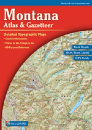 Montana Atlas and Gazetteer