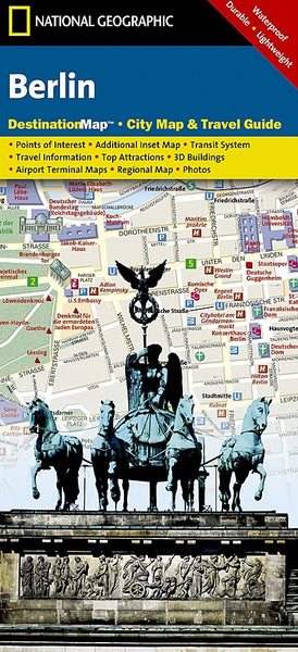 National Geographic Berlin Destination Map