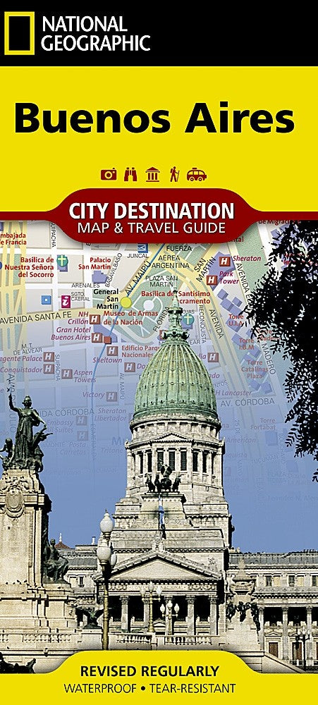 National Geographic Buenos Aires Destination Map