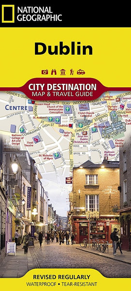 National Geographic Dublin Destination Map