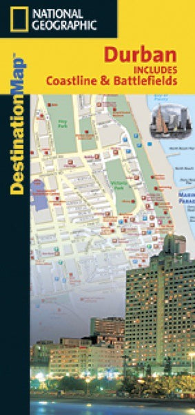 National Geographic Durban Destination Map