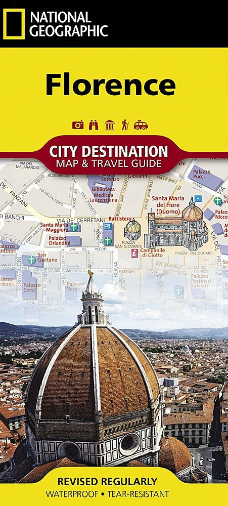 National Geographic Florence Destination Map