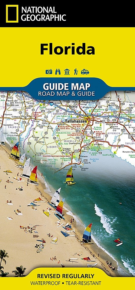 National Geographic Florida GuideMap