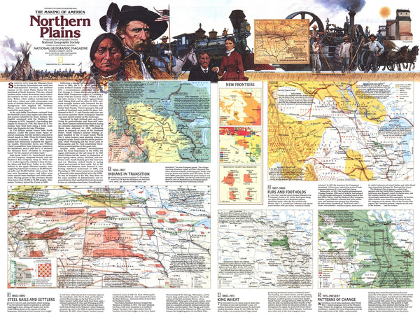 Northern Plains Map 1986 Side 2