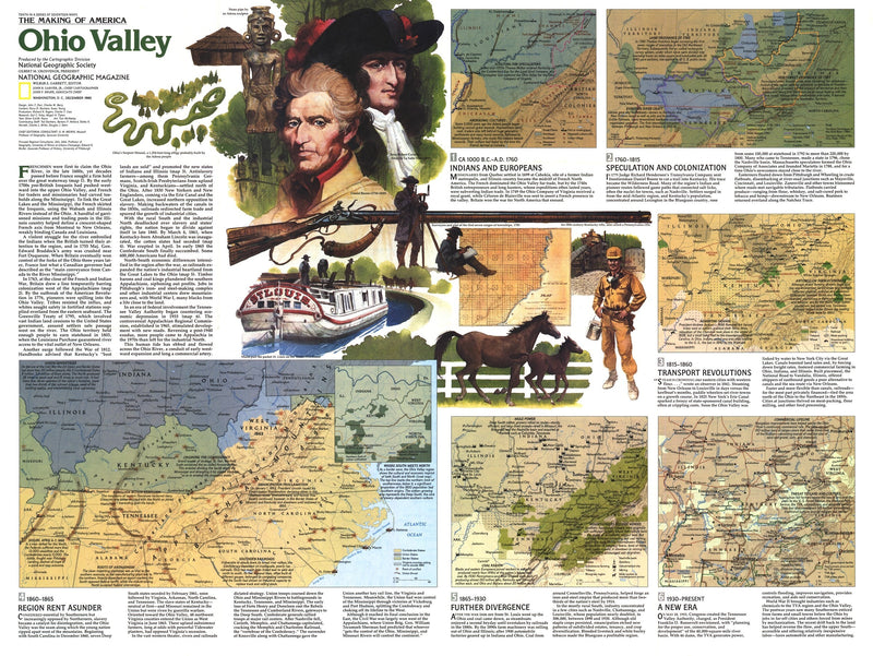 Ohio Valley Map 1985 Side 2