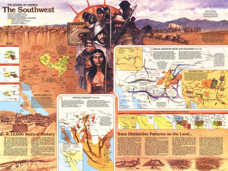 Southwest Map 1982 Side 2
