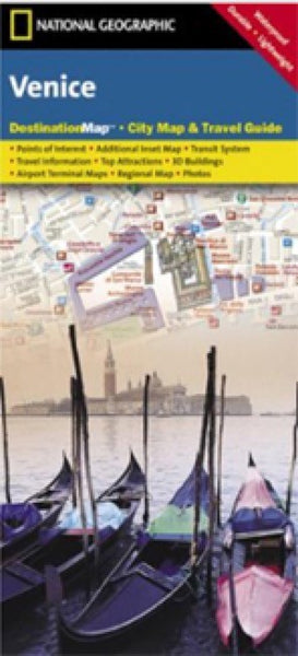 National Geographic Venice Destination Map
