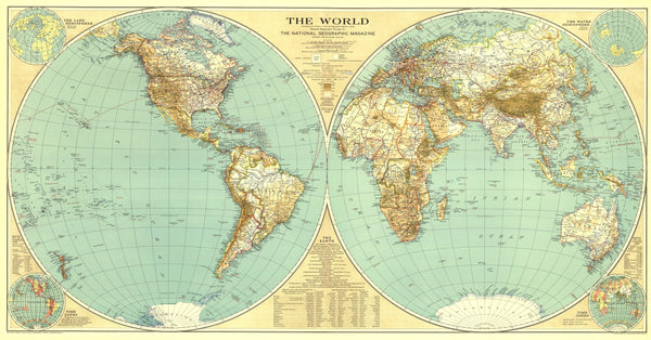World Map 1935