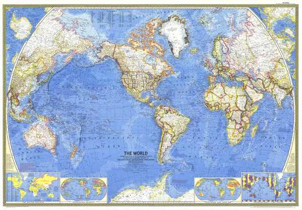 World Map 1965