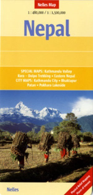 Nepal Travel Map