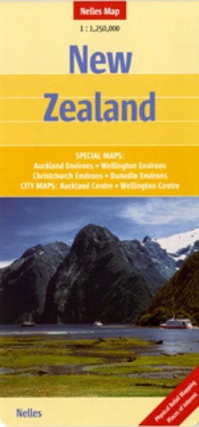 New Zealand Travel Map