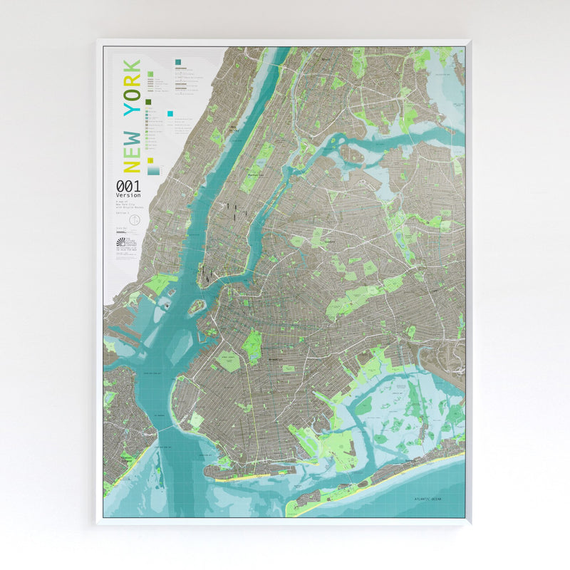 Cover of New York City Map Version 1 by Future Mapping Company