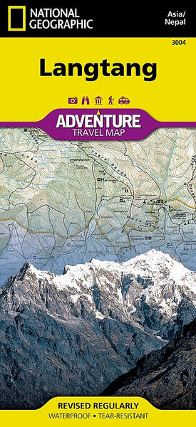 National Geographic Langtang Adventure Map