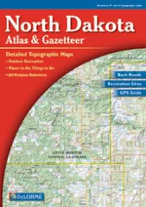 North Dakota Atlas and Gazetteer