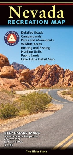 Nevada Recreation Map