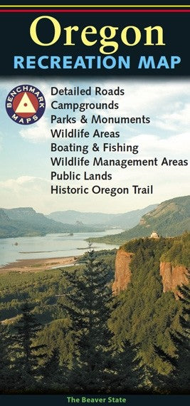 Oregon Recreation Map